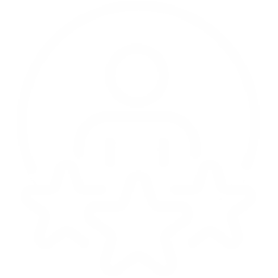 icone d'une personne entourée de 3 étoiles