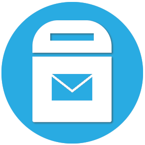 icone boite aux lettres