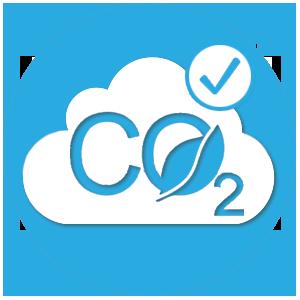 icone nuage co2 economisé