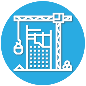 icone immeuble en construction