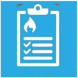 icone diagnostic incendie